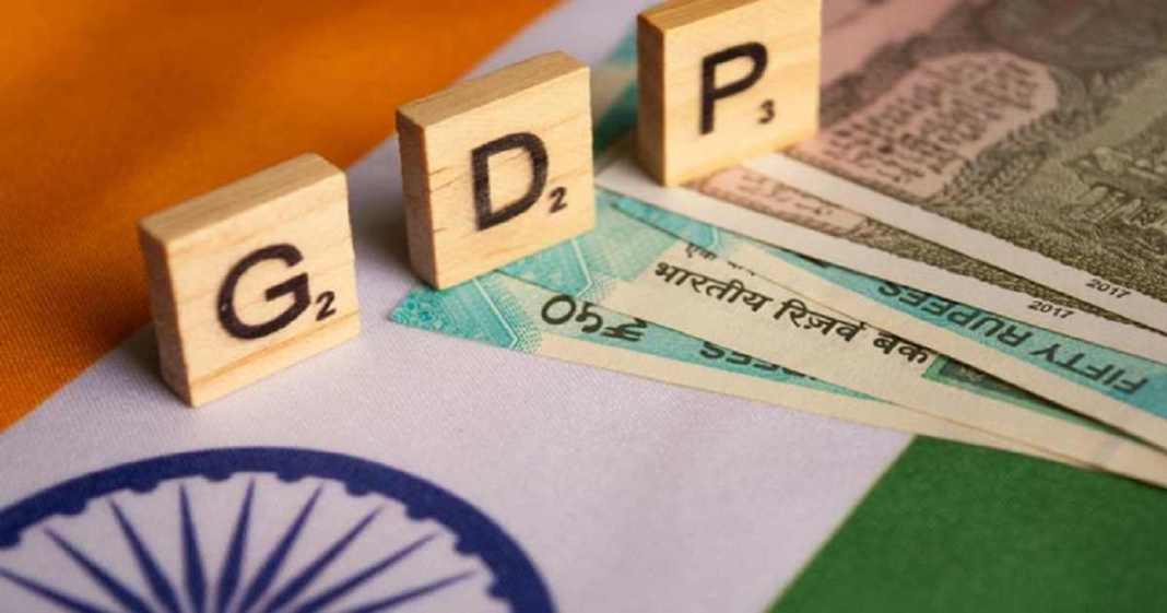 GDP data probes that there is only a growth of 3.1 percent in fourth quarter of the fiscal year 2020