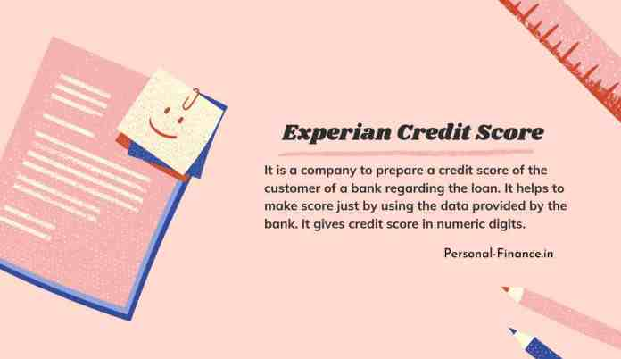 what is experian credit score