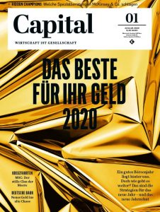 Cover of the new Capital