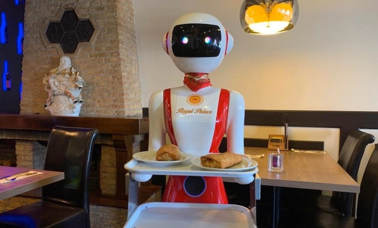 Photo of Robots safely used as waiters