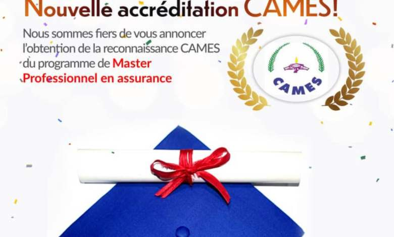 Photo of Senegal: the Professional Master in Insurance from the IFAGE institute recognized by CAMES