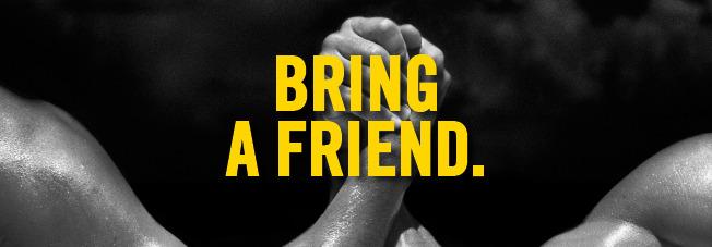 Bring a friend actie