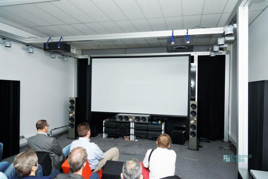 KEF的Dolby Atmos影院。