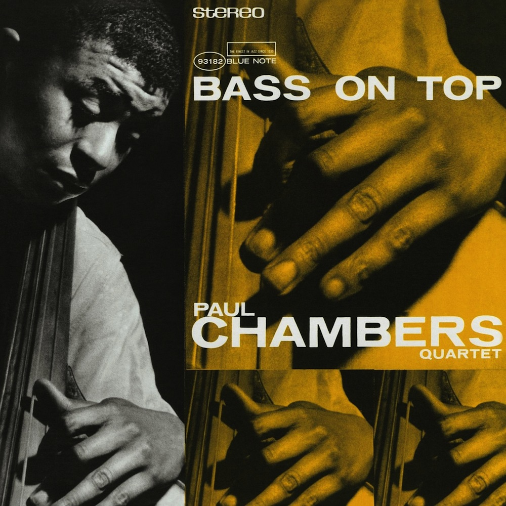 Paul Chambers《Bass On Top》(LP)