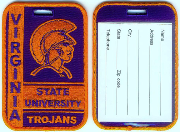 Virginia State University Large Embroidered Luggage Tags ...