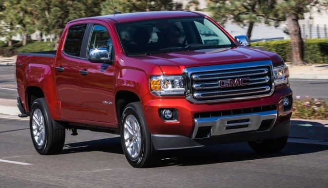 New 2015 GMC Canyon