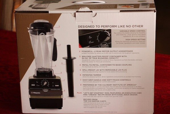 Vitamix, the machine I've lusted after for years