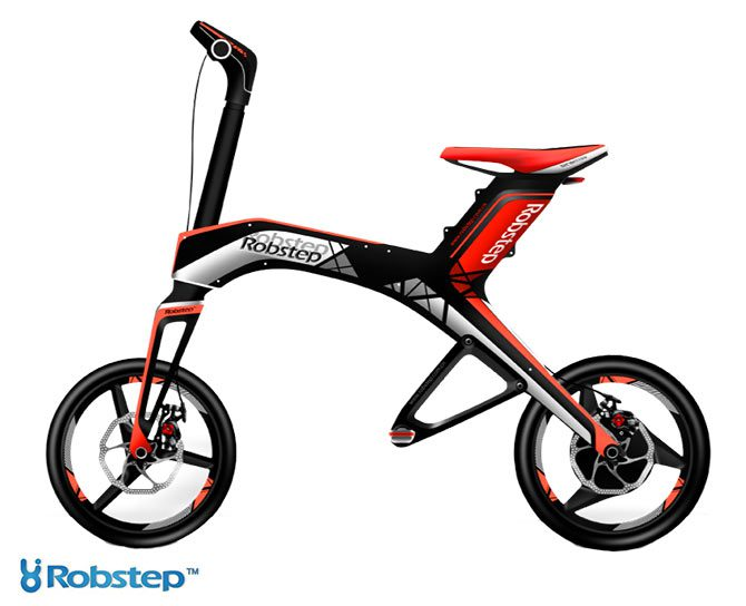 Robstep X1 Foldable Electric Bike Robstep Electric Vehicles Pet