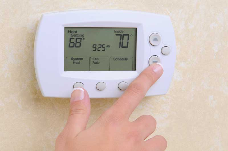 What Temperature To Keep House In Winter When Gone