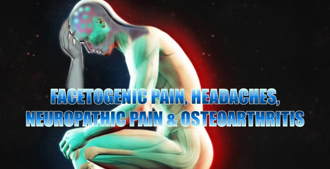 facetogenic neuropathic, osteoarthritis and headaches pain el paso tx.