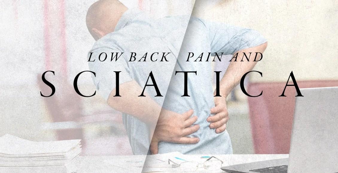 Low Back Pain & Sciatica   El Paso, TX Chiropractor