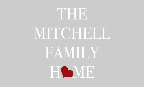 Grey The ... Family Home Heart Personalised Doormat 4 Lines