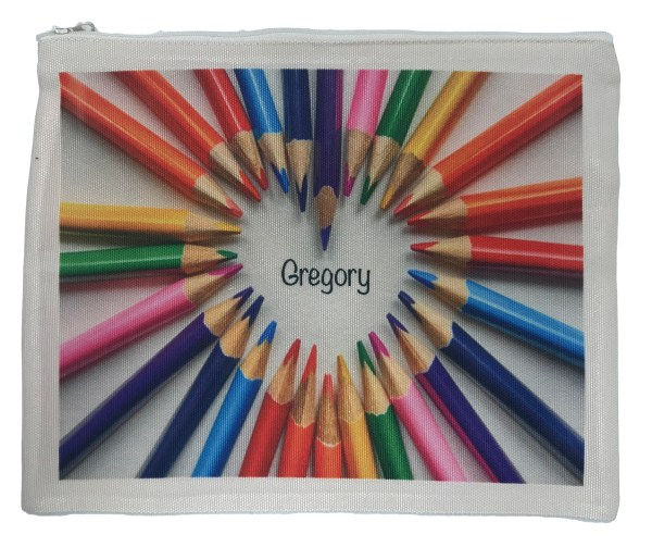 Design Your Own Zip Up Pencil Case