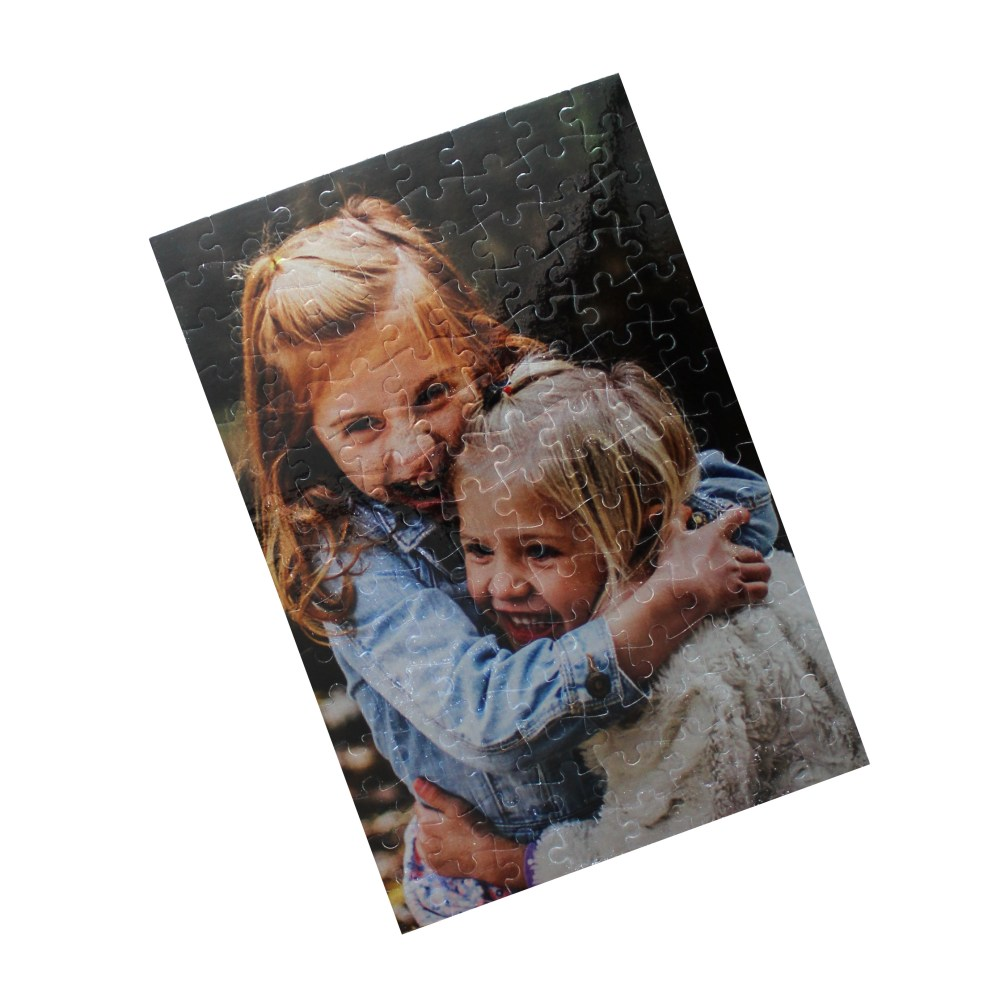 Metallic A4 Personalised Jigsaw - 120 Pieces