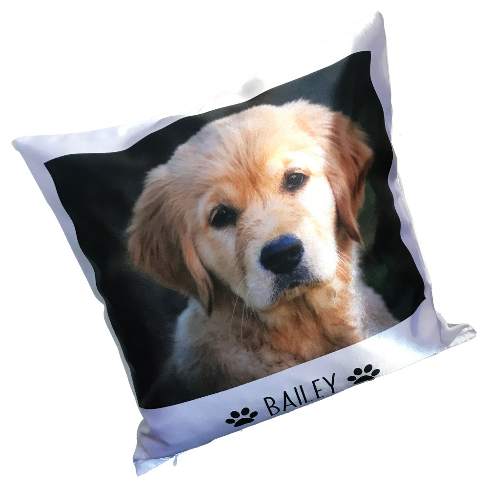 Personalised pet photo cushion, personalised pet cushion, personalised dog cushion, personalised dog photo cushion, personalised cushions