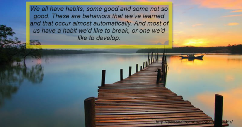 7 Steps To Break (or Make) A Habit