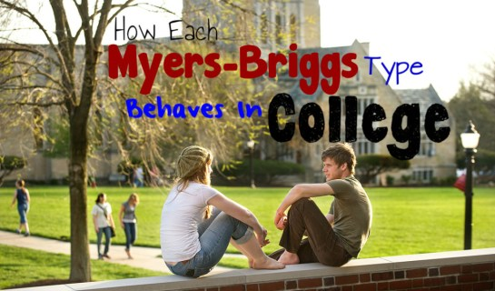 Each Myers-Briggs Type In College