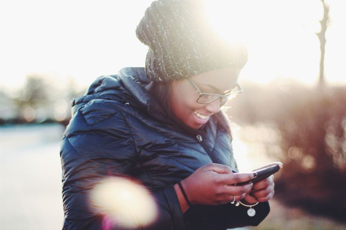 Extroverted Introvert loves texting
