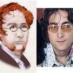Branwell Bronte - John Lennon 3