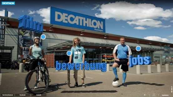 Die Karriere-Website mit dem höchsten Fremdschämpotenzial 2012 - Decathlon Karriere