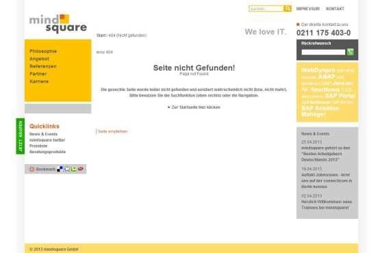 Great Place to Work - Deutschlands bester Arbeitgeber - mindsquare - Ohne Slash keine Karriere-Infos