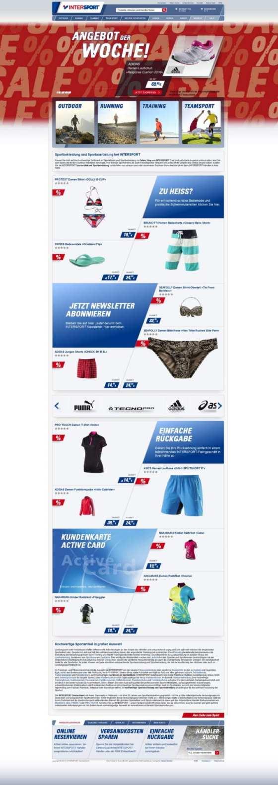 Intersport Startseite