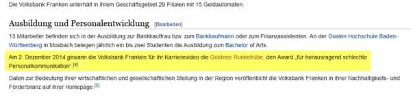 Volksbank Franken bei Wikipedia