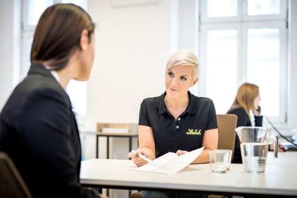 Ströck Karrierezentrum - Im direkten Gespräch mit dem Bewerber