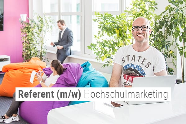 Referent Hochschulmarketing - Job bei nterra nahe Darmstadt