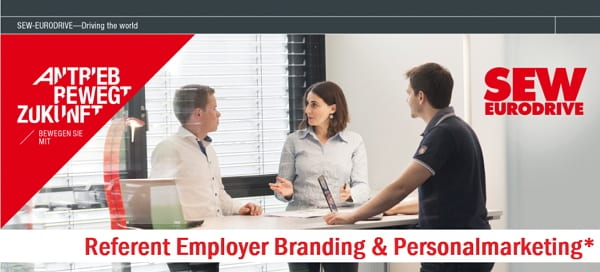 Stellenangebot - Job - Referent Employer Branding_Personalmarketing_SEW-EURODRIVE