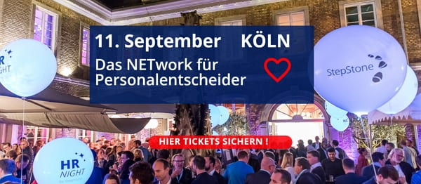 HR-NIGHT 2018 - Das Networking-Highlight für die HR-Community