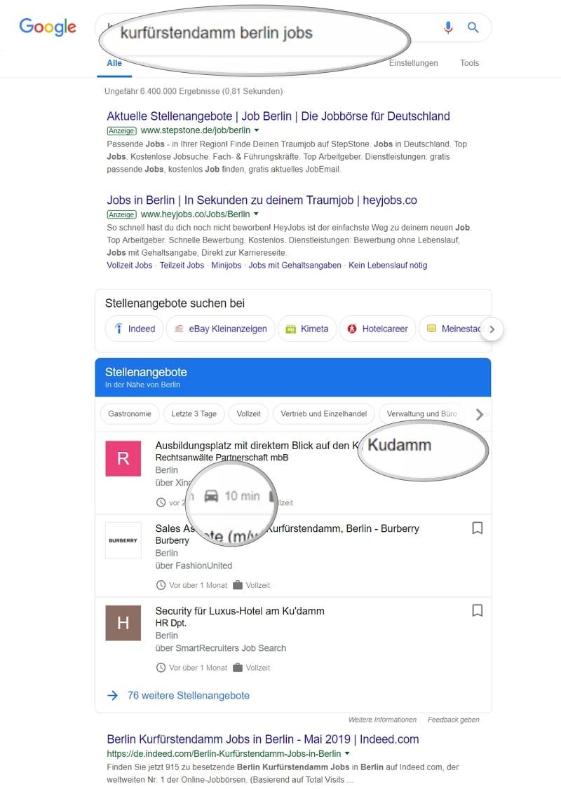 Offizieller Start von Google for Jobs in Deutschland - Diese Fehler ...