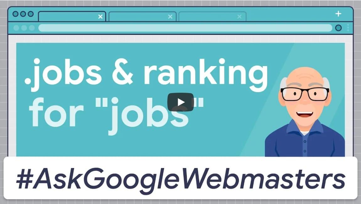 .jobs-Domain und die Auswirkungen aufs Google-Ranking