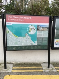 Sandycove Beach Sign 1