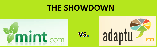 Mint.com vs. Adaptu