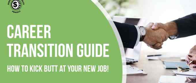 Need a career change but not sure where to start? Here's your complete guide on how to find a job and transition from your old job to your new one! -Personalprofitability.com
