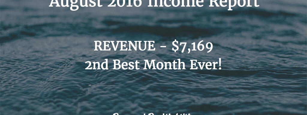 September 2016 Earnings and Investments Update