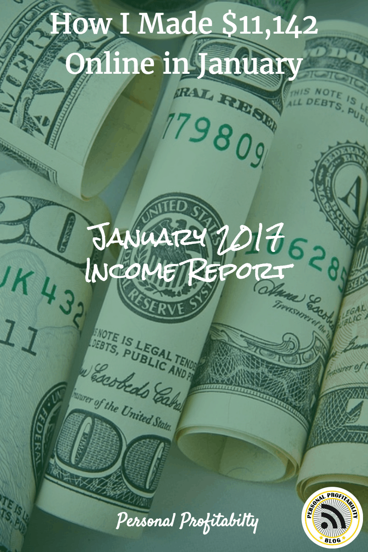 I can't believe I've made over $10,000 per month four months in a row! See how I did it in this month's online income report.