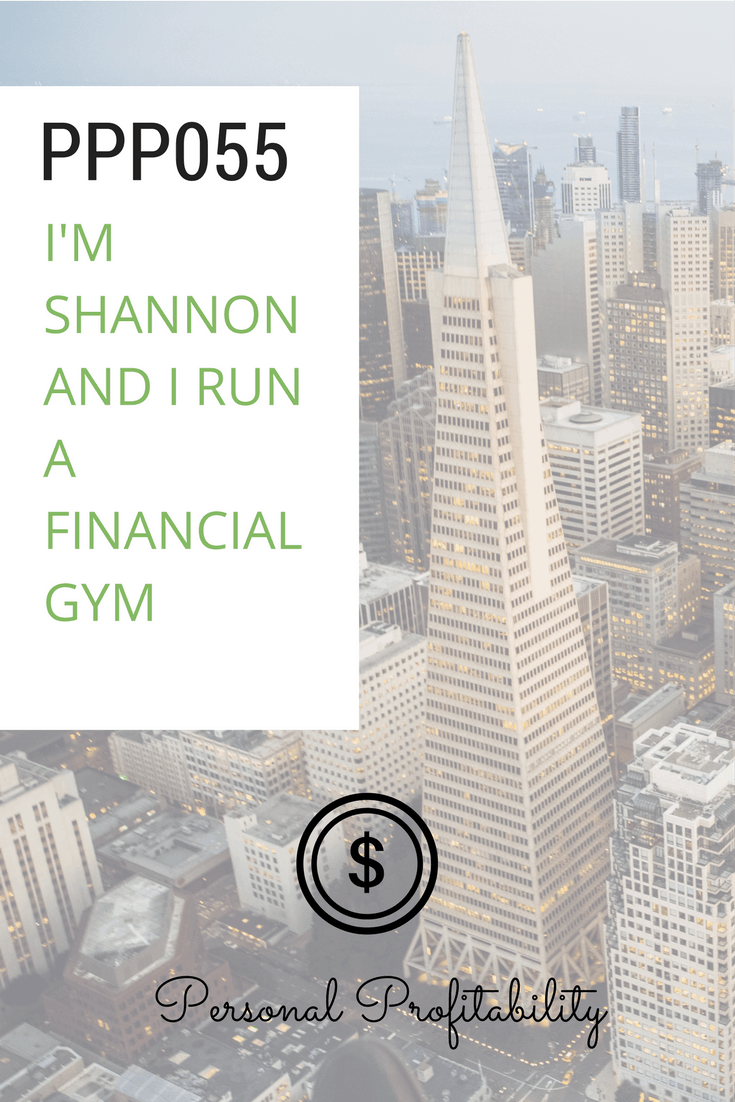 Shannon quit her job as a Wall Street investment banker to start her own business, a financial advising company with a workout and self improvement theme.