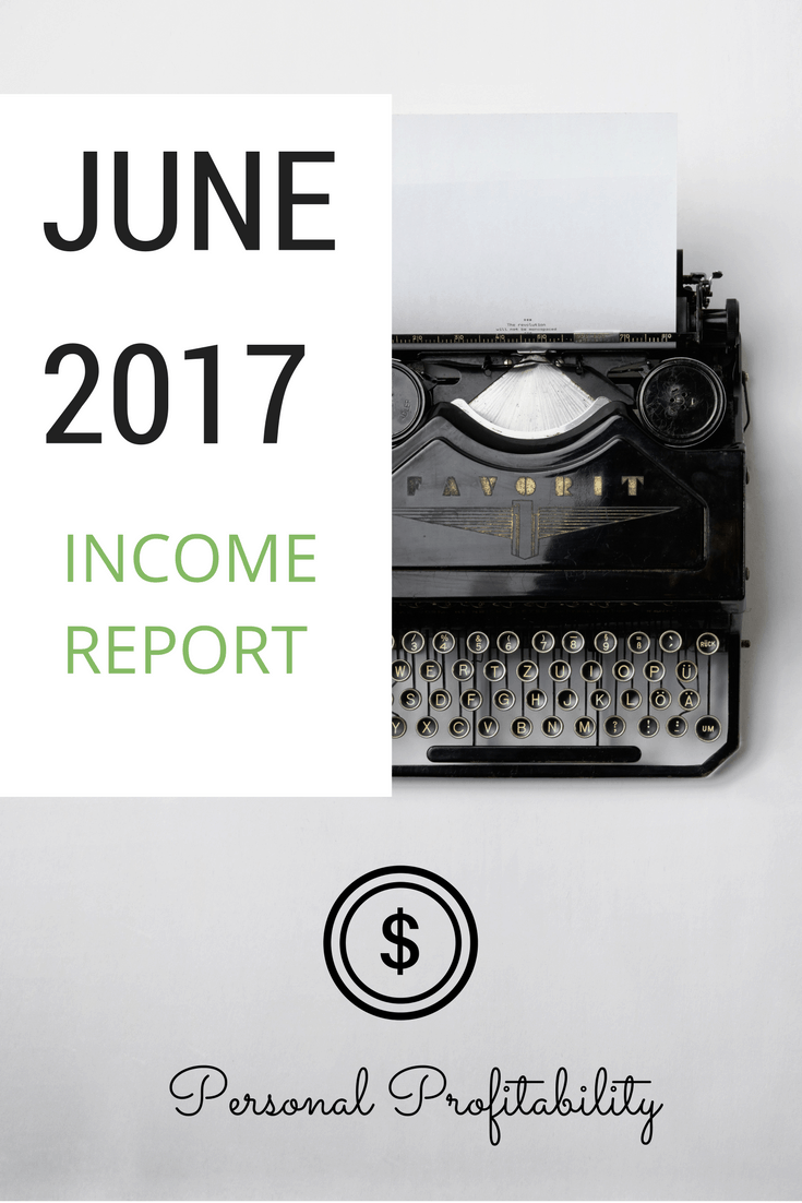 After missing income goal in May, June results came in with a vengeance. See how I earned over $12,000 in revenue as a freelancer in June 2017 in this post.
