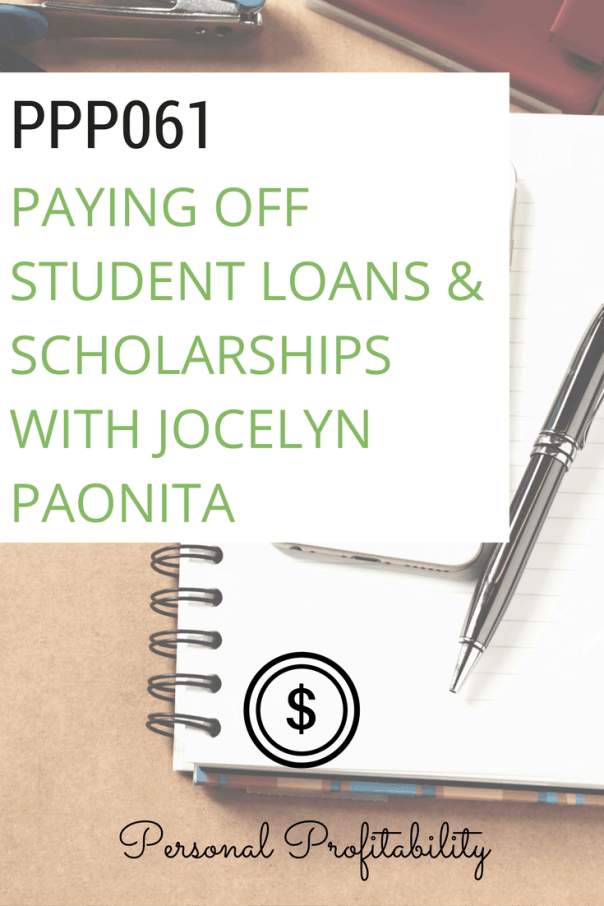Founder of The Scholarship System, Jocelyn Paonita joins us this week to tell you and your kids how to pay for college without any student loans.