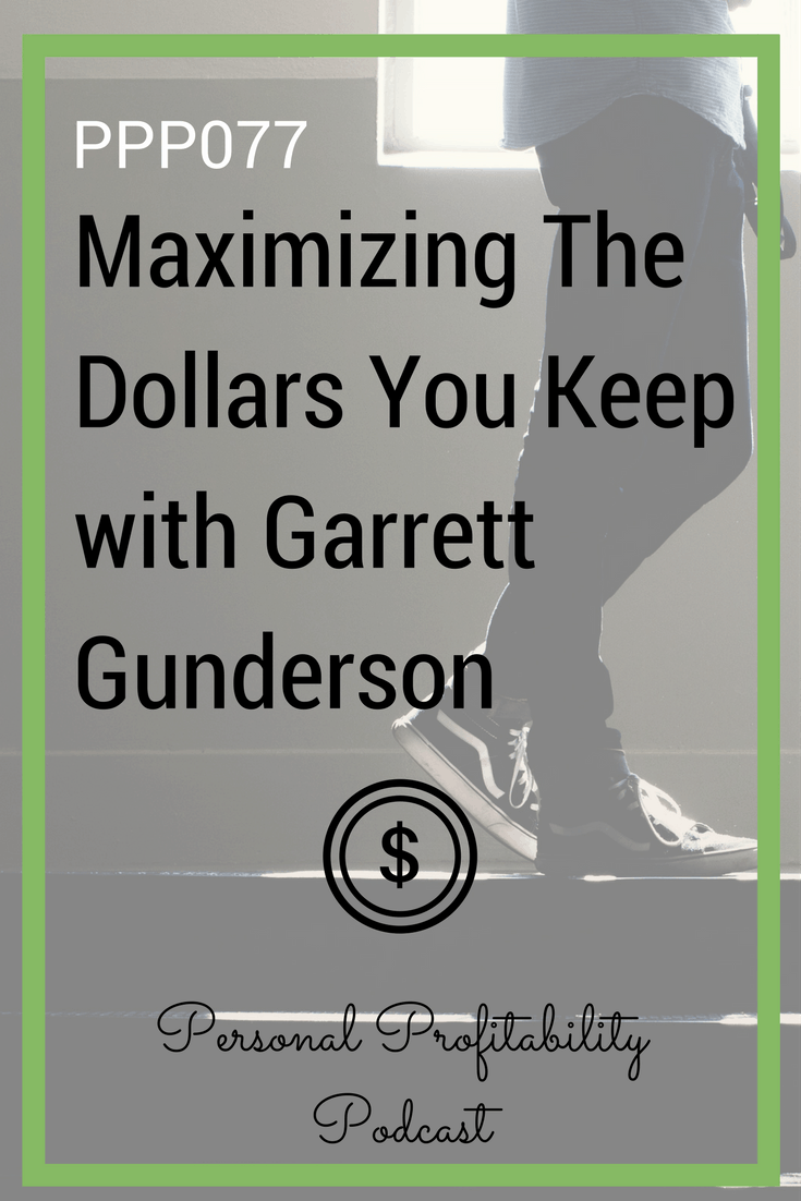 Garrett Gunderson is a best-selling author and the man behind Wealth Factory, a business designed to help entrepreneurs optimize their personal and business finances to reach the best possible success. If you love keeping it profitable, you will love this chat with Garrett Gunderson.