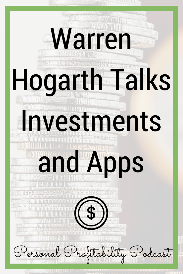 Today's guest has been on both sides of the business investment table: one as a venture capitalist for Sequoia Capital, and one side as the founder of the personal finance app Empower. You won't want to miss this episode with Warren Hogarth!