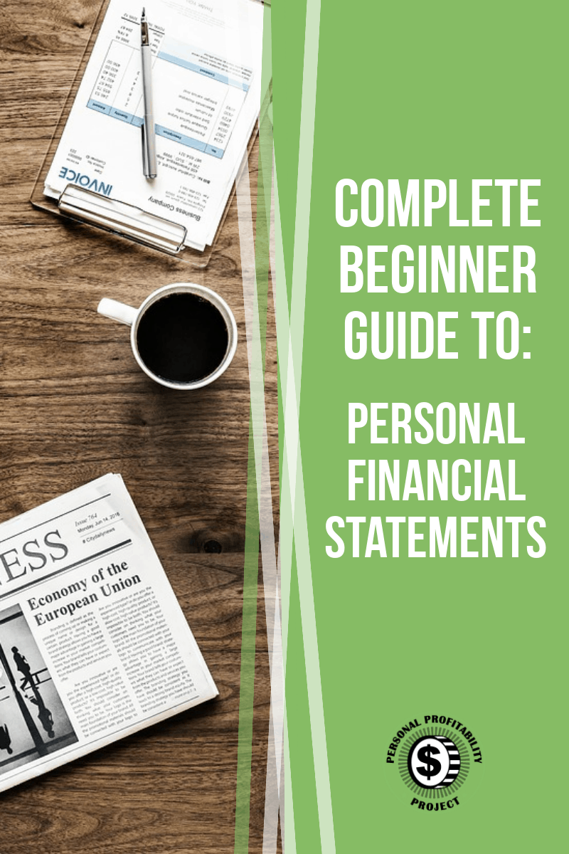 Understanding your personal financial statements is such an important skill when it comes to doing your own accounting. This beginner guide will give you some awesome tips to get your personal finances up to speed! #accounting #personalfinance