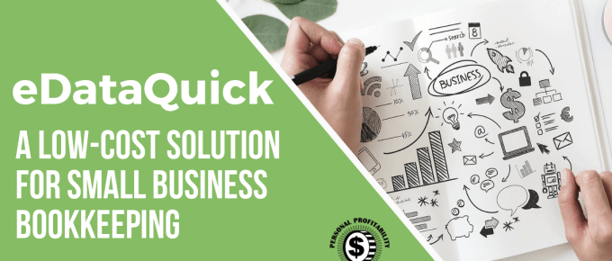 eDataQuick- Affordable small business bookkeeping- PersonalProfitability.com