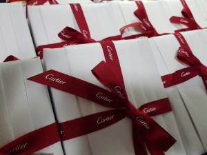 Cartier Gift Boxes from Japan