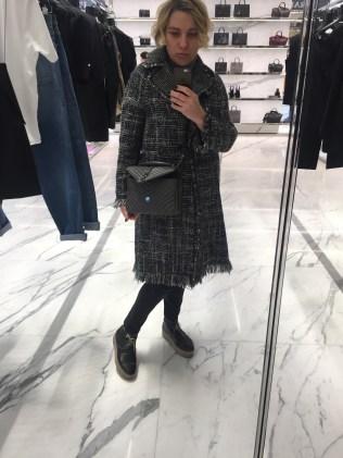 Saint Laurent boutique.
