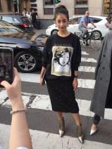 неделя моды в Милане.