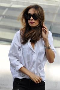 A white blouse 1