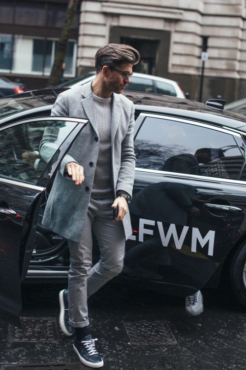London fashion week men's